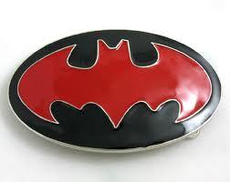 20eb12db4524 Batman rouge - boucle de ceinture   Cool Mania